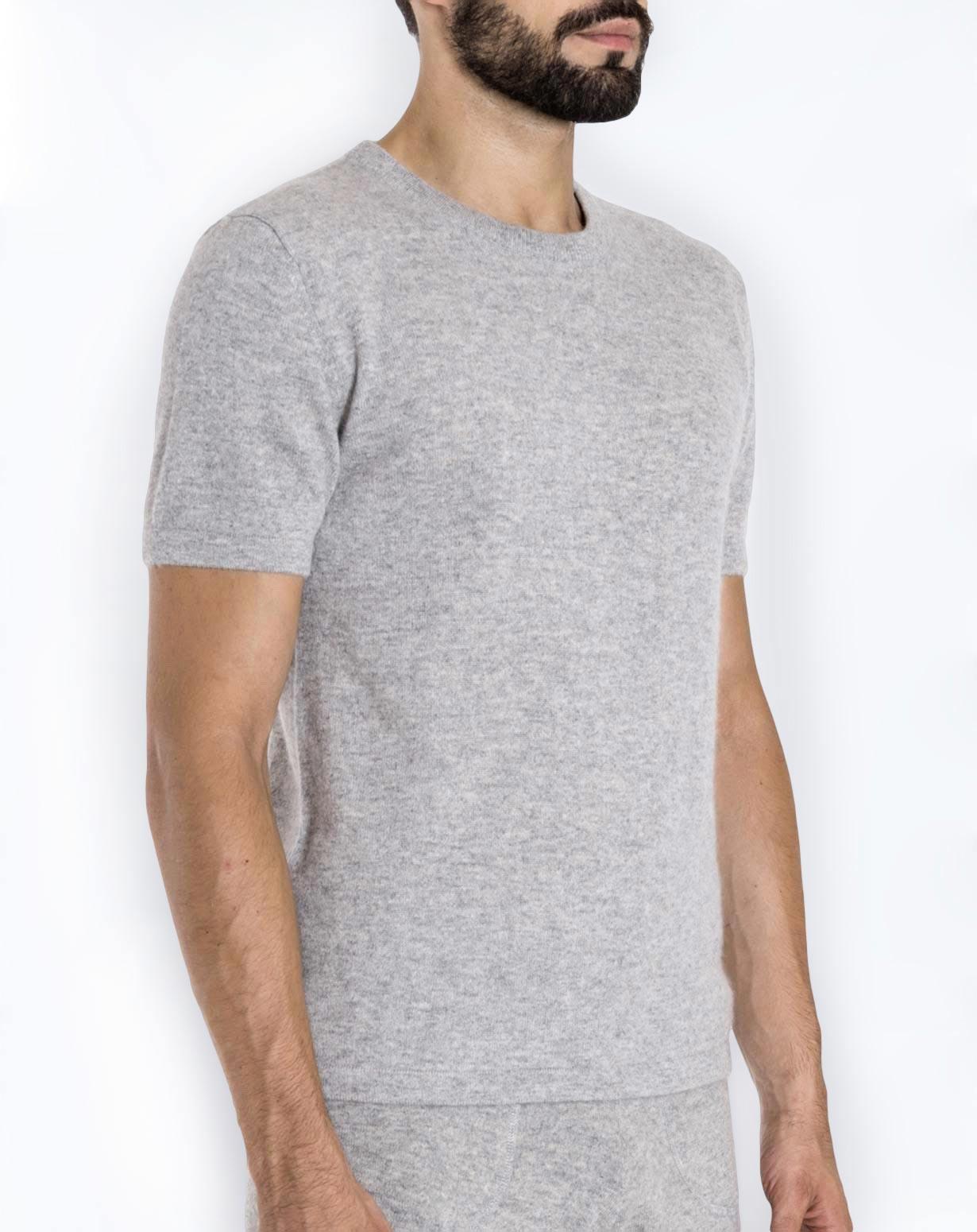 4c85cff33 Men's Cashmere Knit T-Shirt | MaisonCashmere