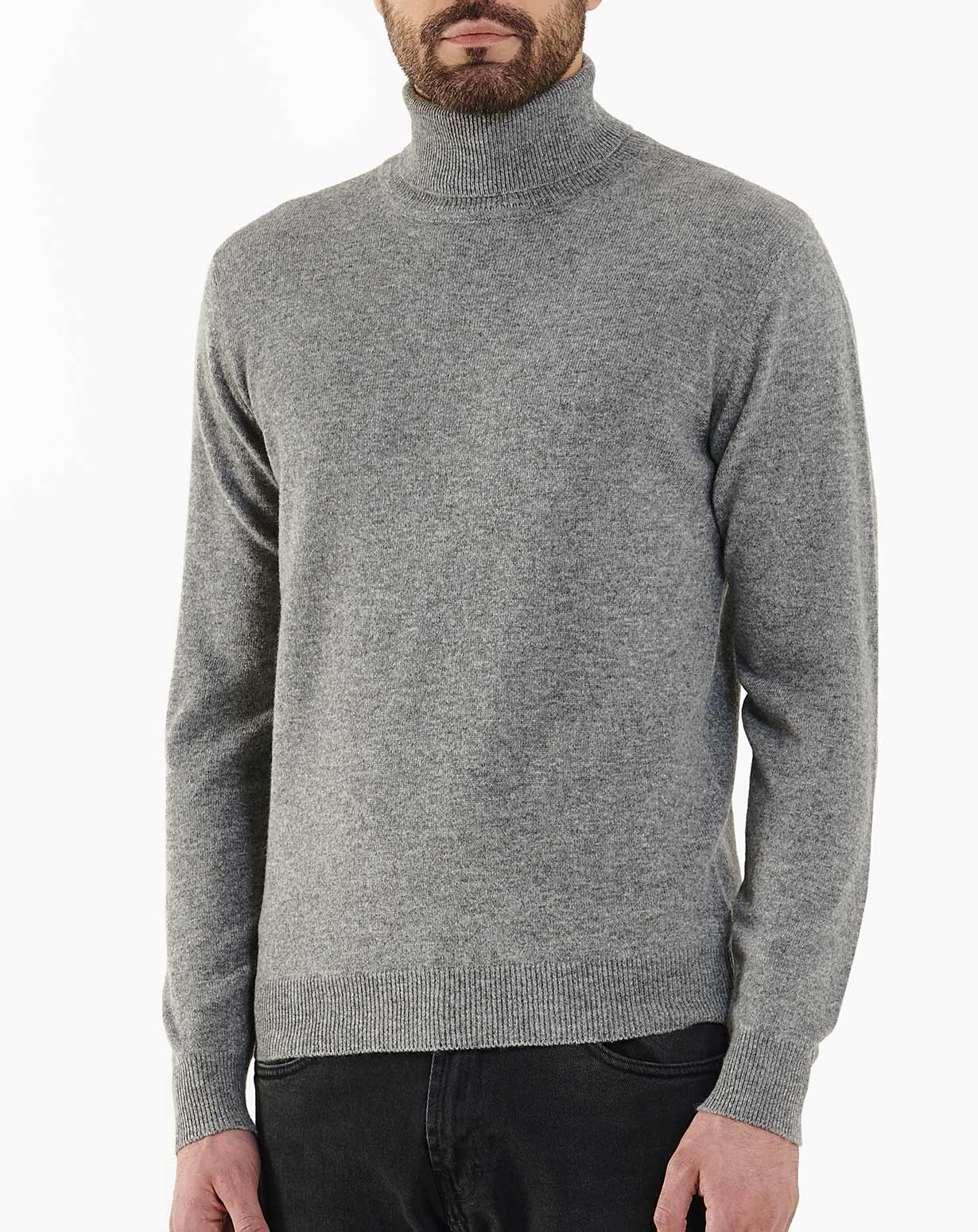 591733cc0 Men s Cashmere Roll Neck Jumper