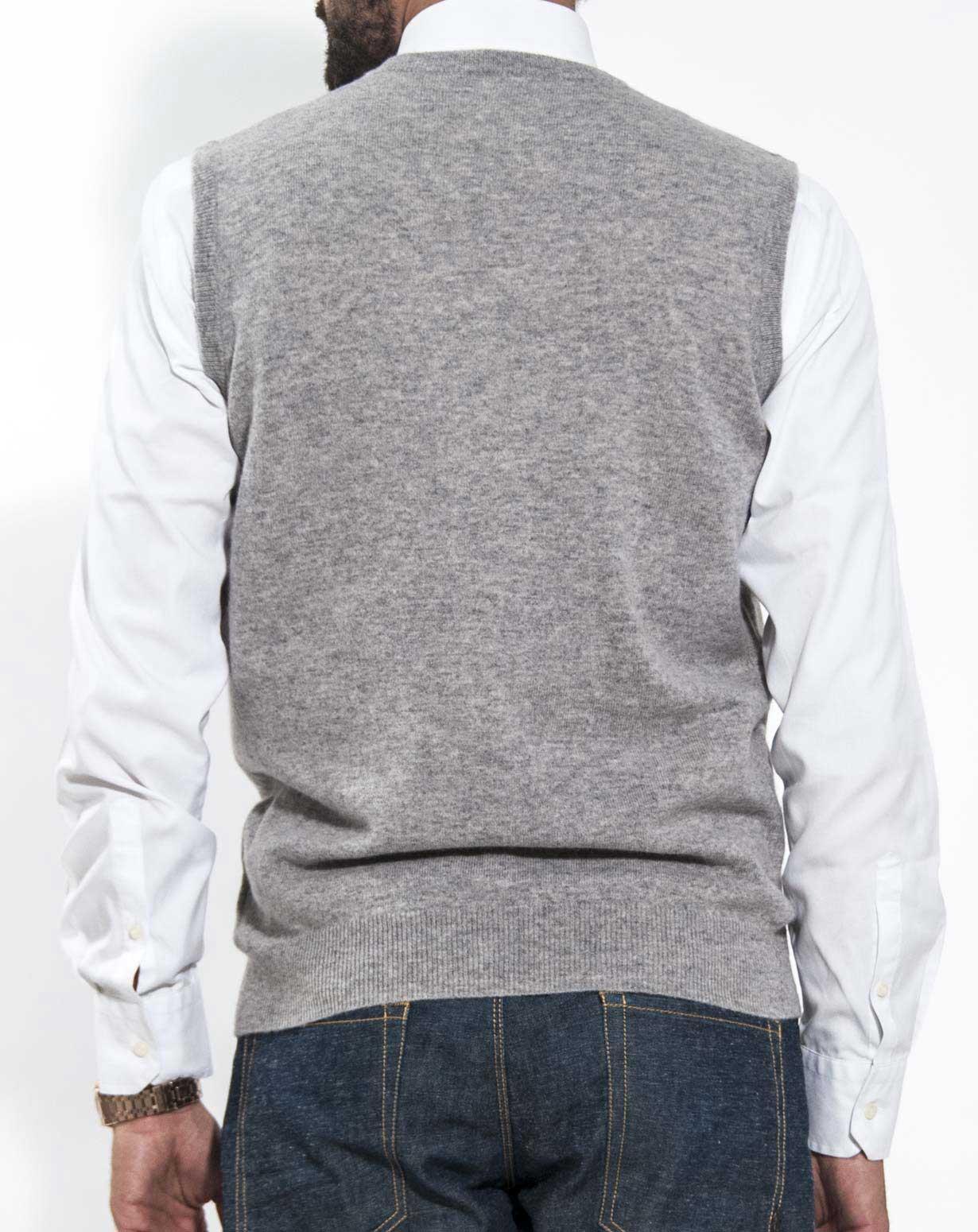 Mens Cashmere Sweater Vest Maisoncashmere