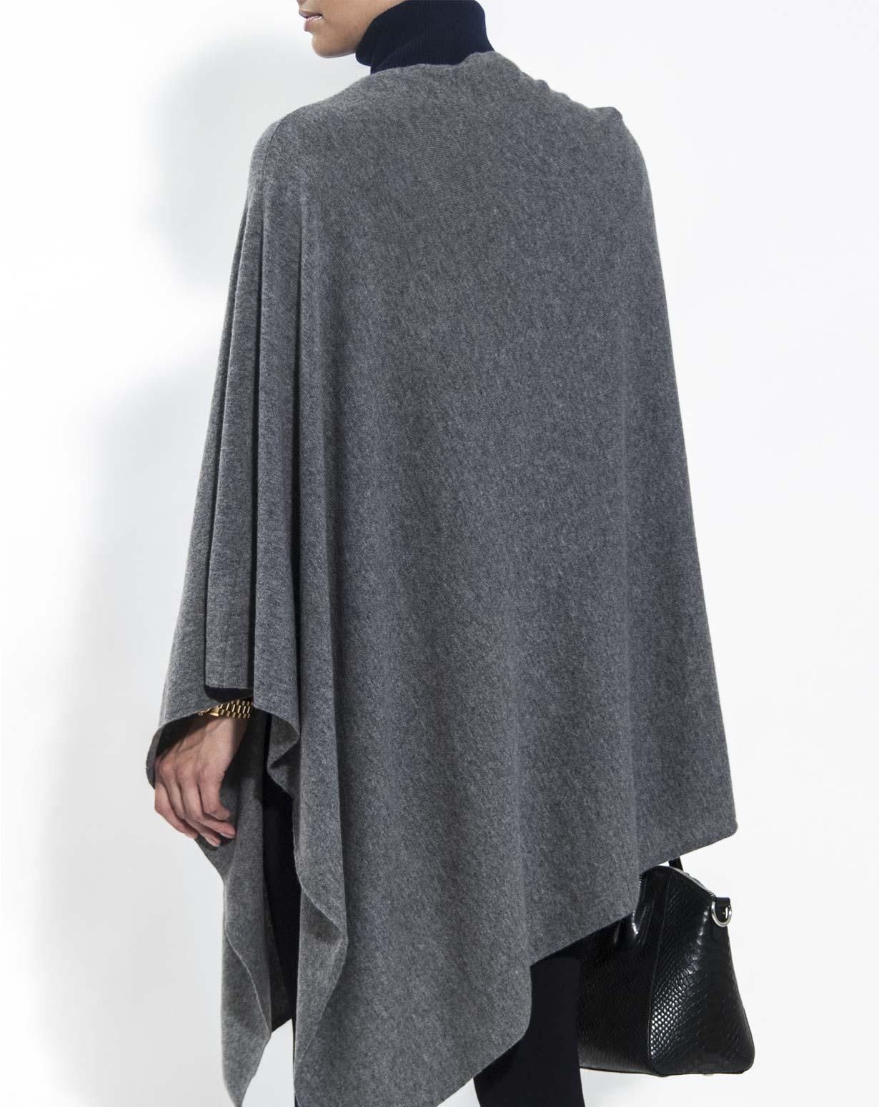 Ladies' Pure Cashmere Poncho