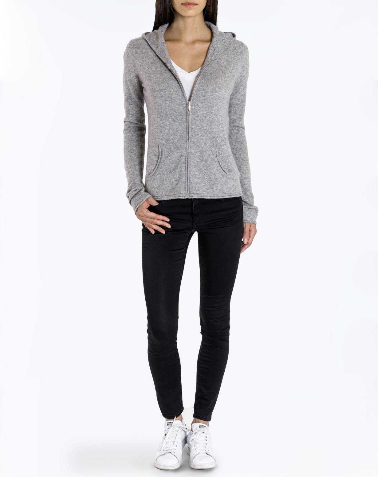 Women's Cashmere Hoodie Sweater | MaisonCashmere