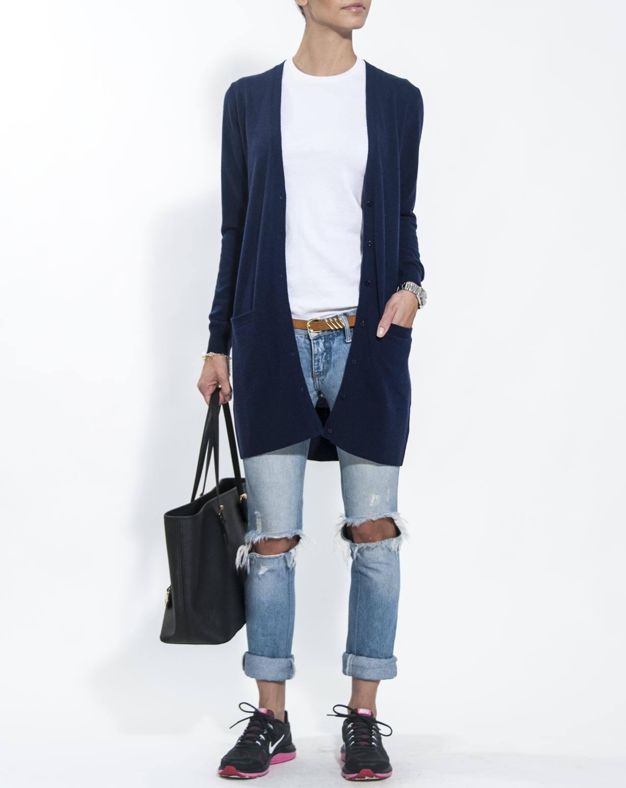 Long Pure Cashmere Cardigan | MaisonCashmere