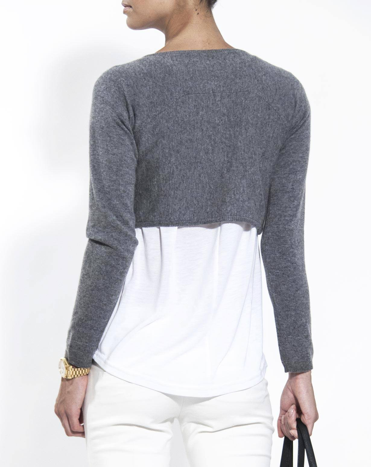 Pure Cashmere Shrug Sweater | MaisonCashmere