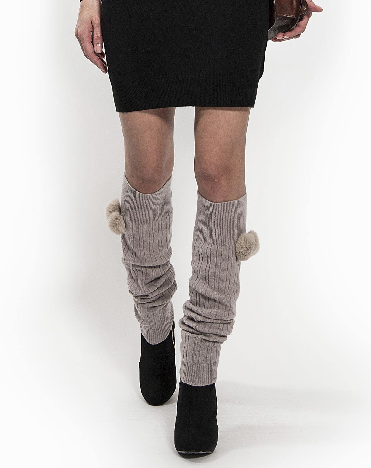 Ladies' Pure Cashmere Leg Warmers