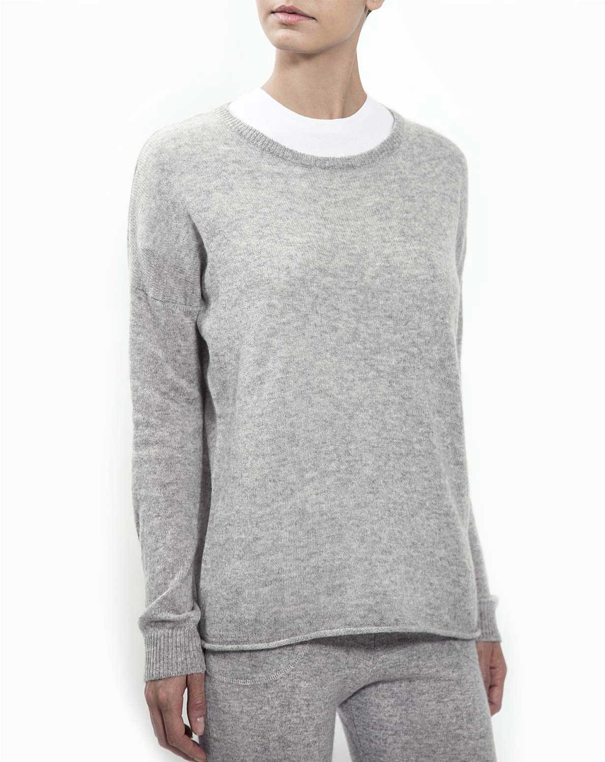 Ladies' Pure Cashmere Lounge Jumper