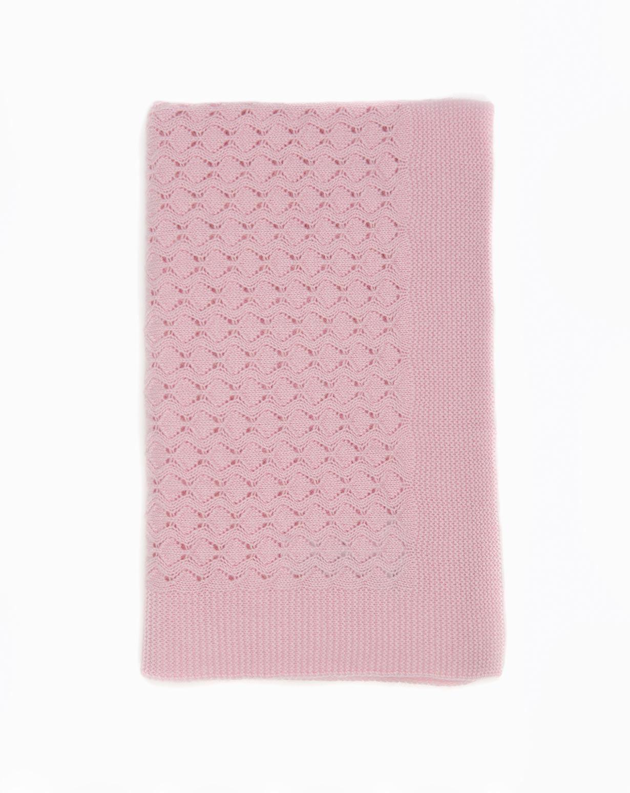 Cashmere Crochet Stitch Baby Blanket