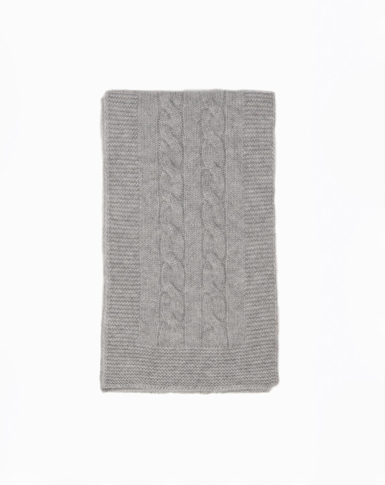 Cashmere Cable Knit Baby Scarf