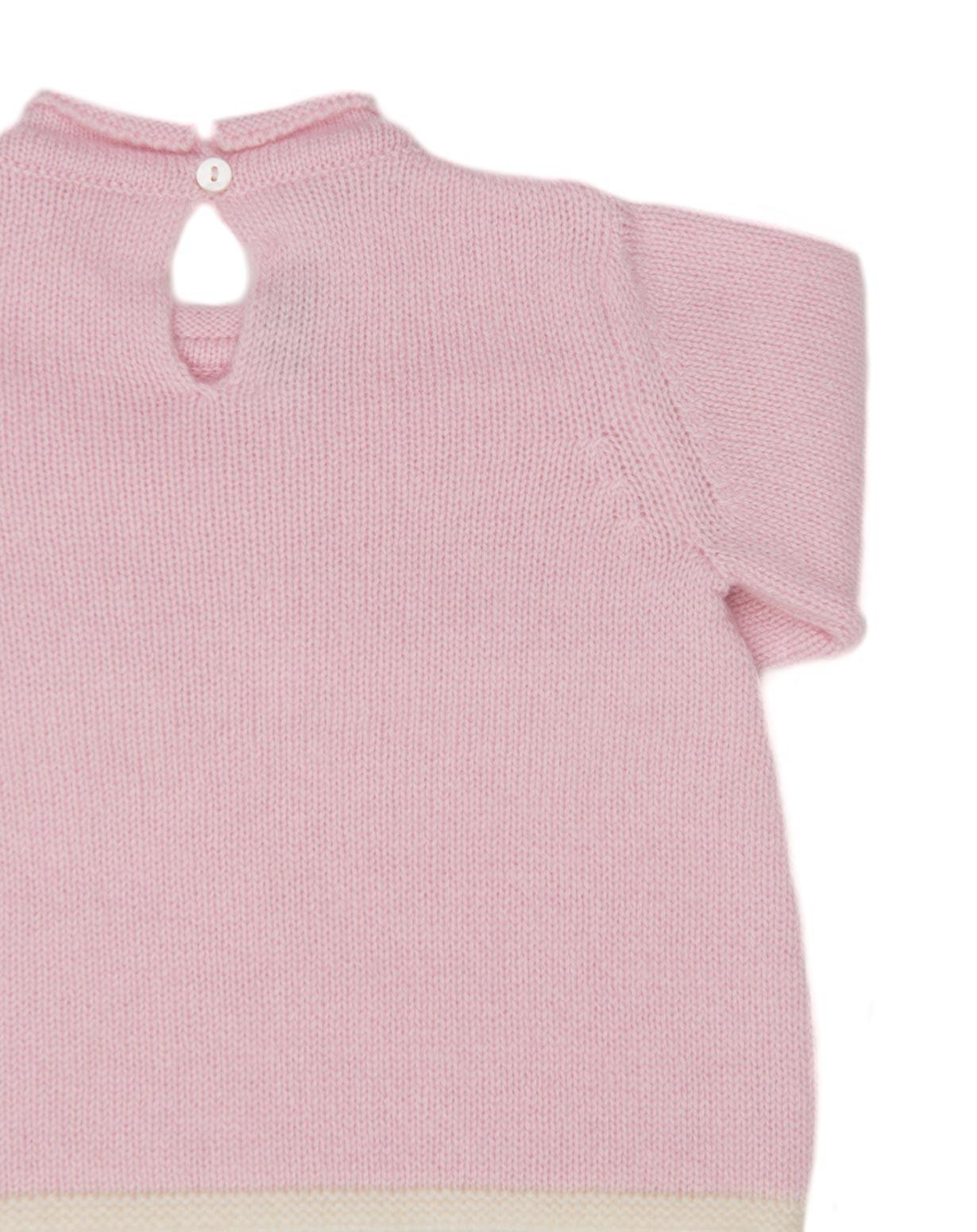 5739a33303f Cashmere Baby Girl Crew Neck Jumper