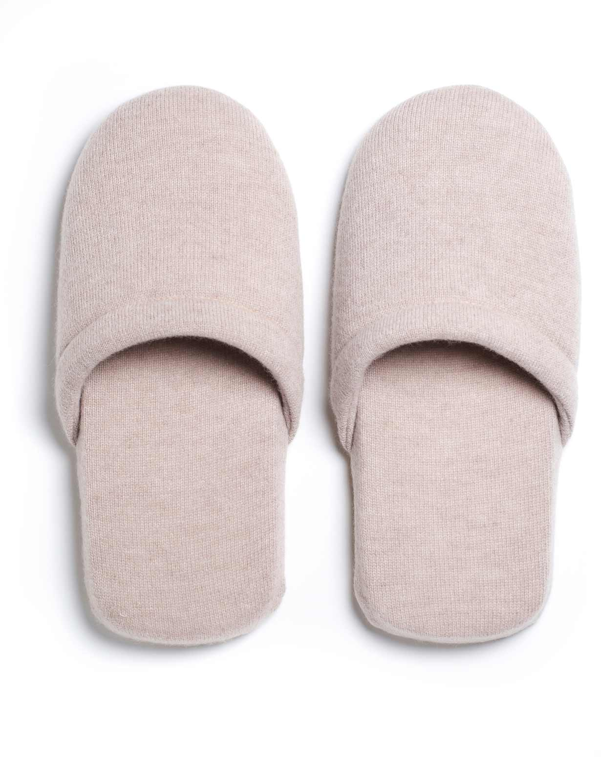 Unisex Pure Cashmere Slippers