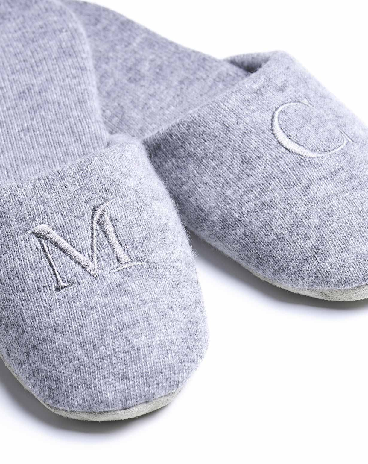 Details Shipping Returns Reviews 0 Uni Pure Cashmere Bedroom Slippers