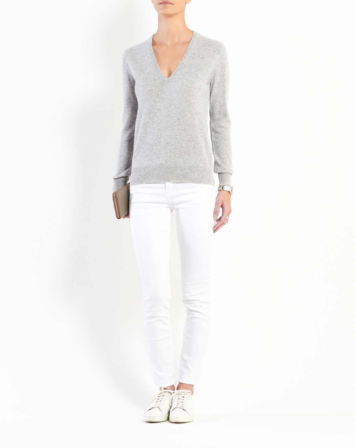 Women s Pure Cashmere V Neck Sweater  e416d0494