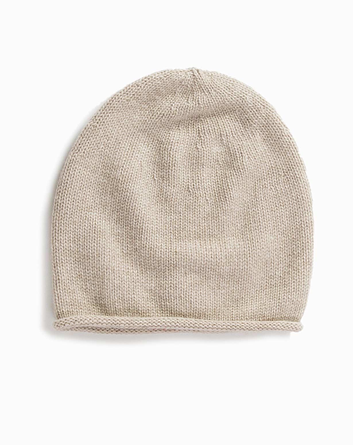 Cappello Cuffia in Puro Cashmere  d3f7ae6e5721