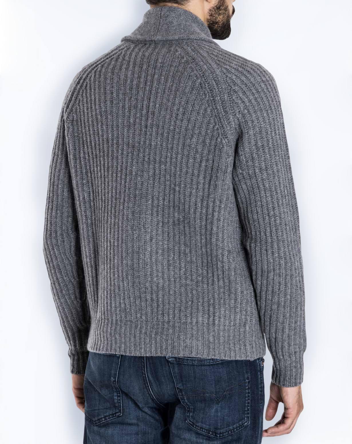 55a0d40407 Cardigan Uomo Coste Inglesi in 100% Cashmere