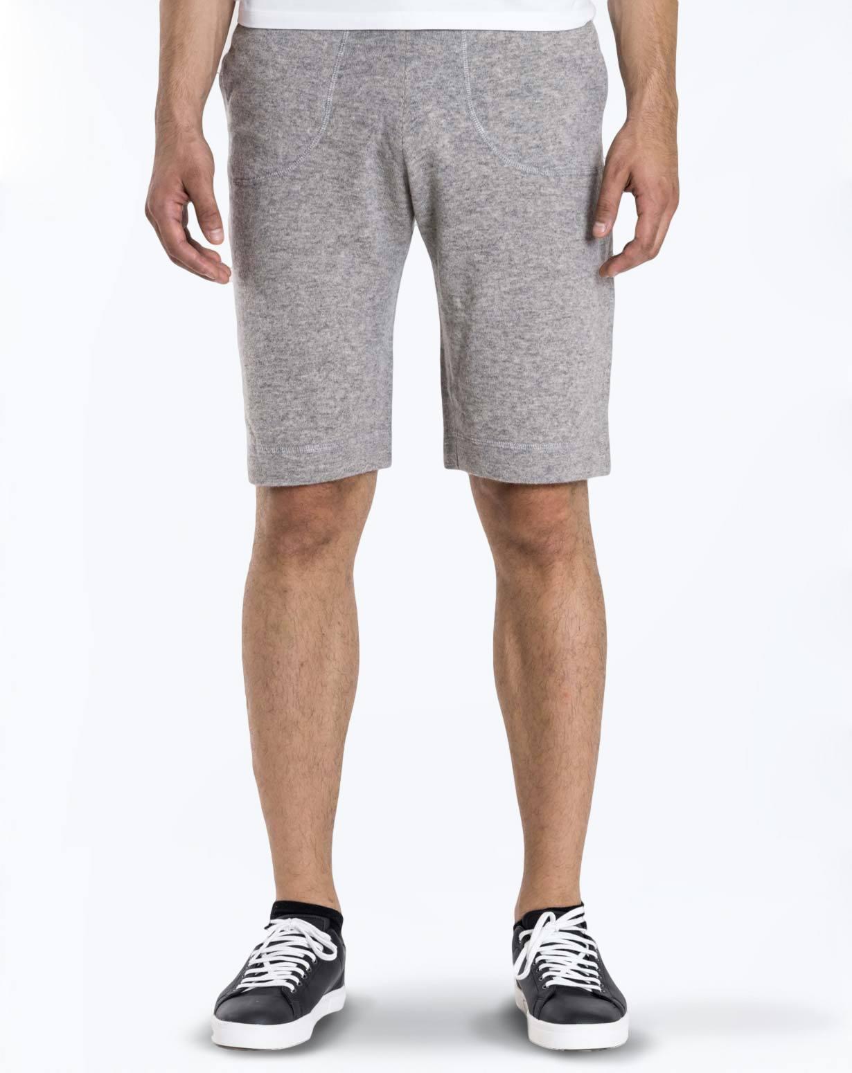 Men S Cashmere Jogging Shorts Maisoncashmere