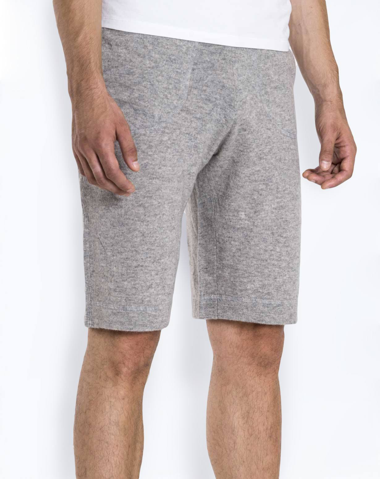 Men's Pure Cashmere Short Jogging Bottoms