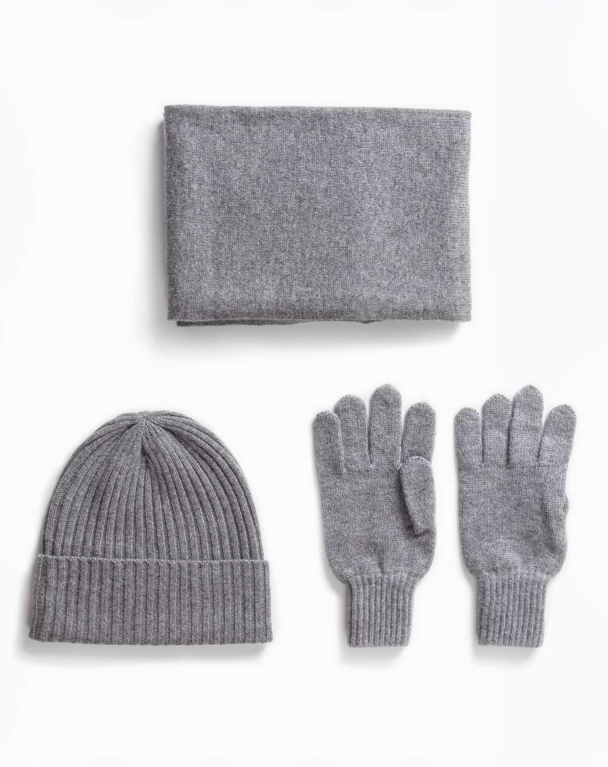 Men's Winter Set - Hat, Scarf & Gloves