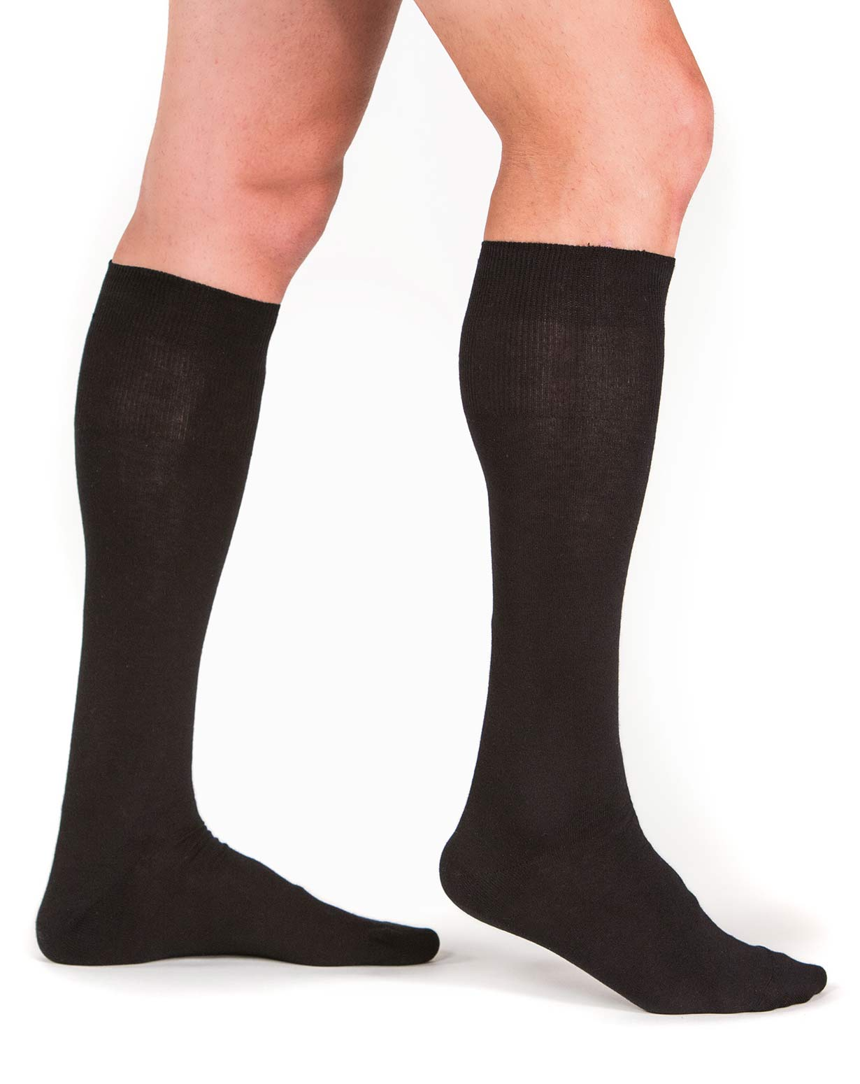 Men's Cotton Cashmere Dress Socks