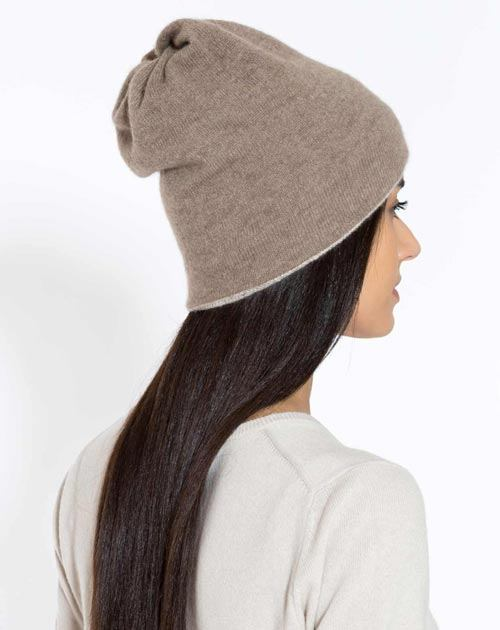 Ladies' Cashmere Beanie - Neck Scarf