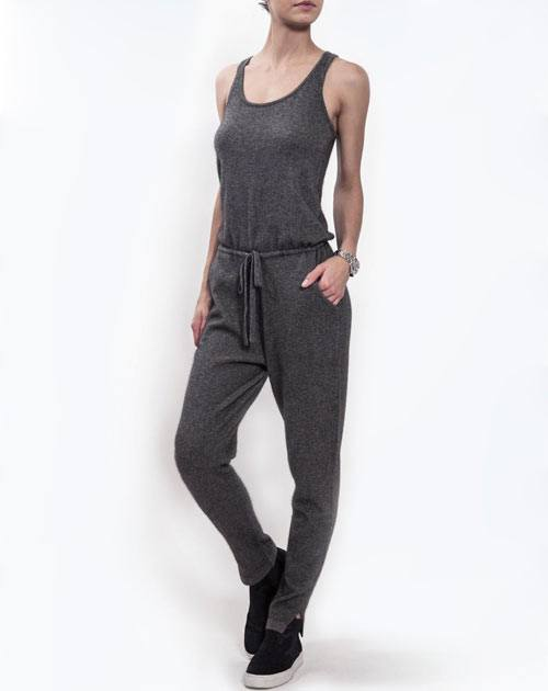 Women's Pure Cashmere Jumpsuit