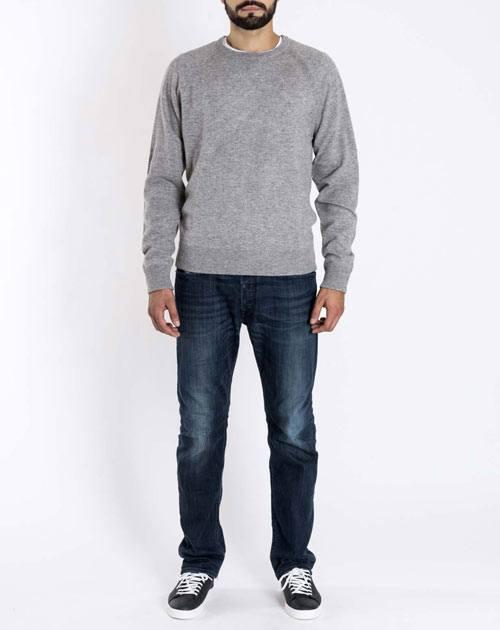 Sweatshirt Pullover aus 100% Cashmere Herren