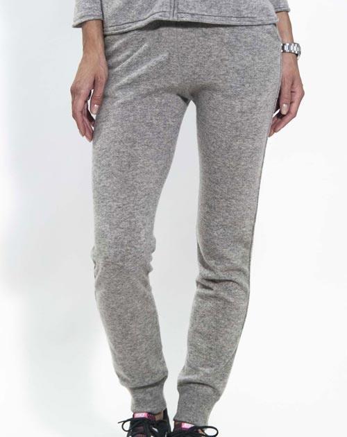 Pantaloni Donna in maglia 100% Cachemire