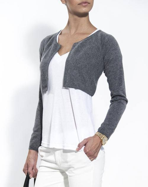 Women's Pure Cashmere Shrug Sweater