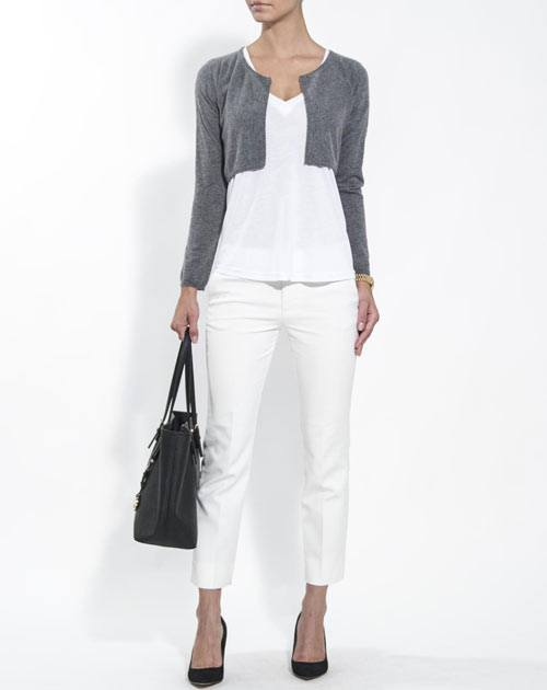 Ladies' Pure Cashmere Shrug Jumper
