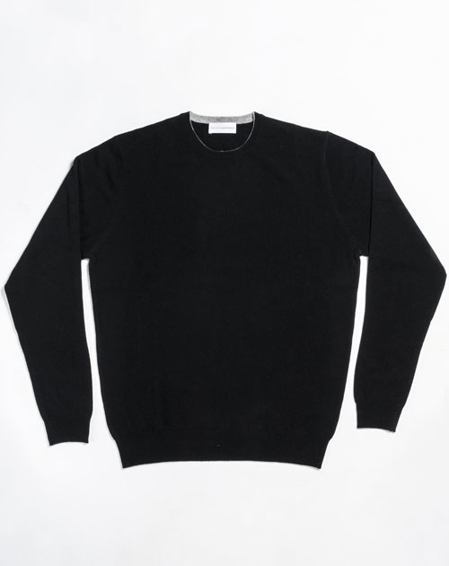 Men's Custom Knits - Cashmere Crew Neck