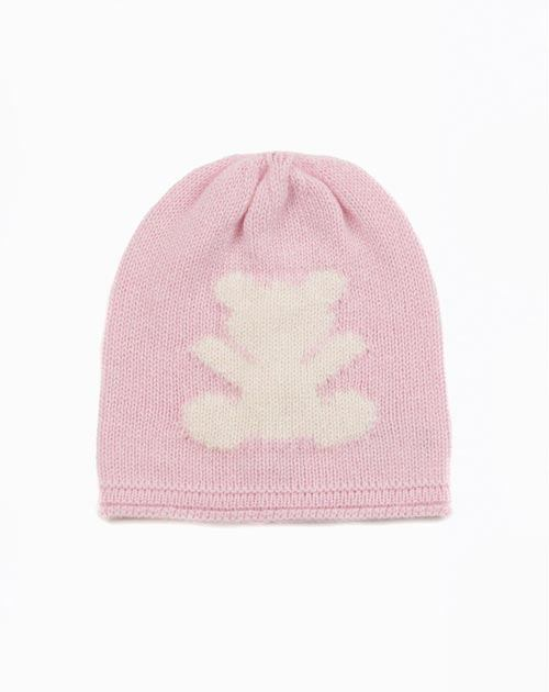 Pure Cashmere Teddy Bear Hat