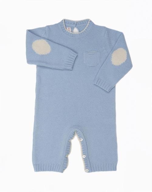 Cashmere Baby Boy Onesie