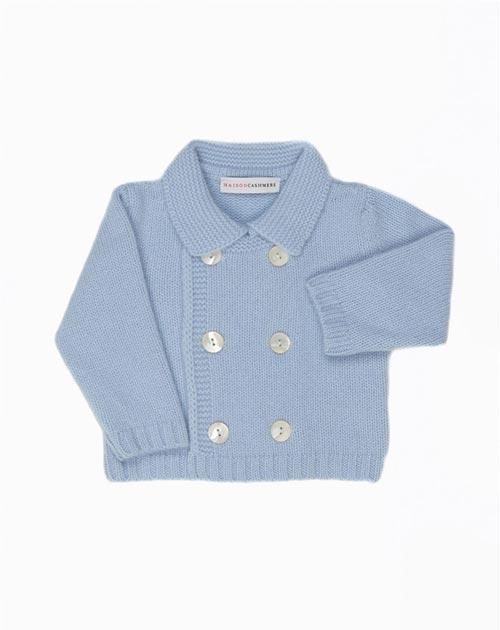 Kaschmir Baby-Mantel für Jungen