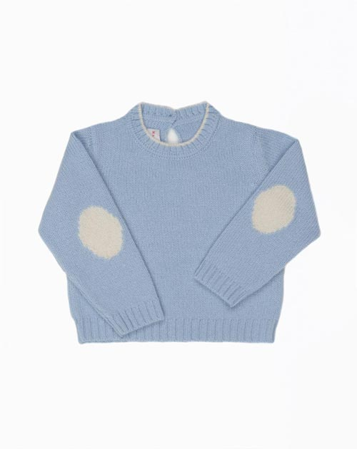 Cashmere Baby Crew Neck Sweater