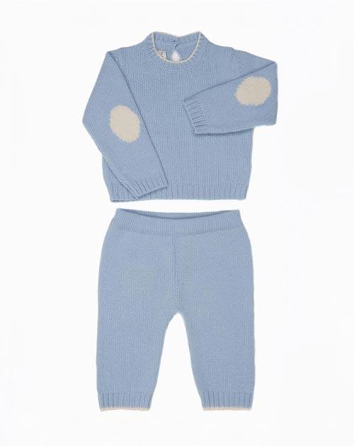 Kaschmir Baby Pullover & Hosen Jungen