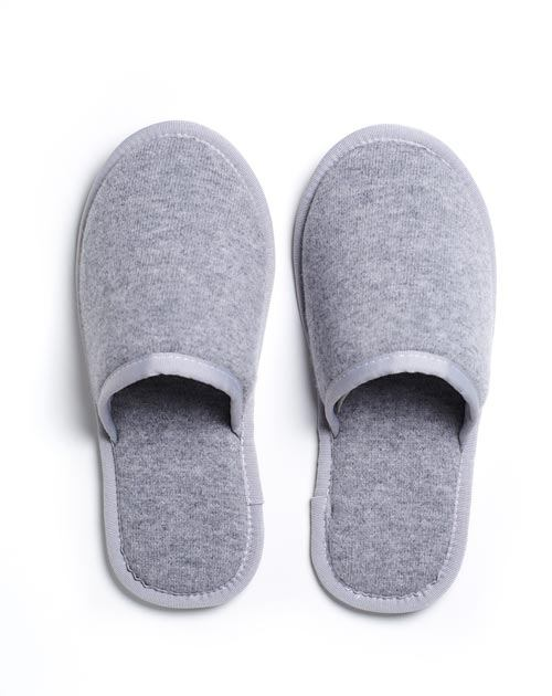 Unisex Pure Cashmere Guest Slippers