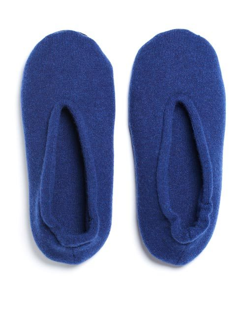 Ladies' Pure Cashmere Ballet Slippers