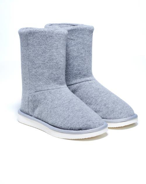 Ladies' Pure Cashmere Slipper Boots