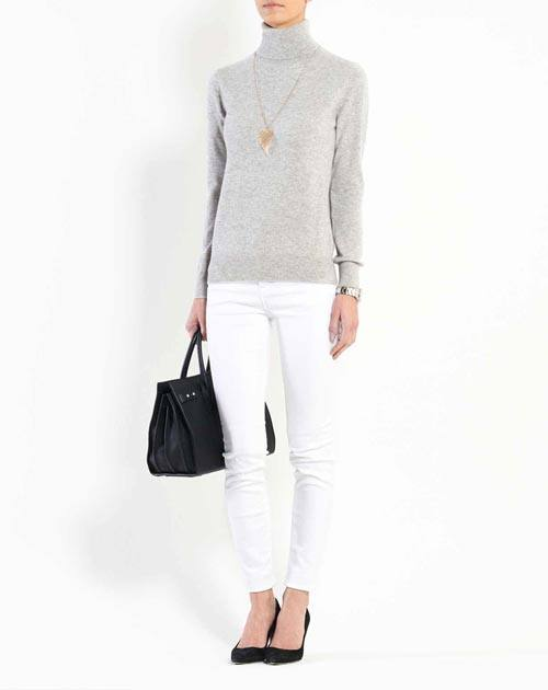 Women's Pure Cashmere Turtleneck Sweater