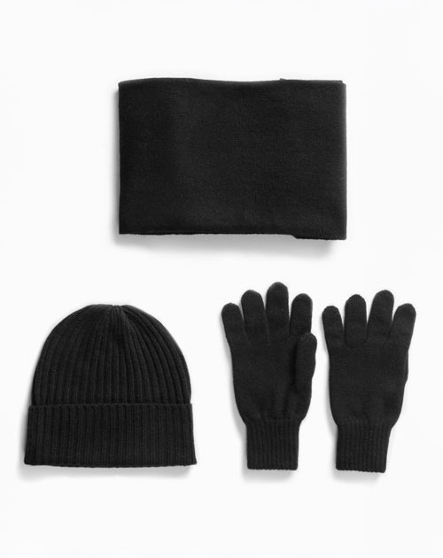 Men's Winter Set - Hat, Scarf and Gloves