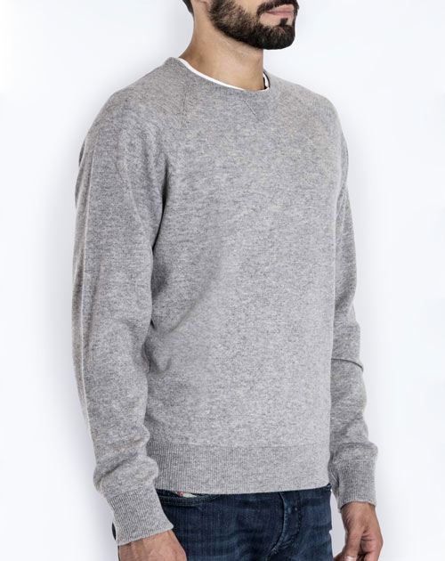 Men's Pure Cashmere Sweatshirt