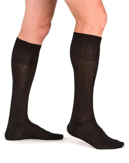 Men's Silk Cashmere Dress Socks