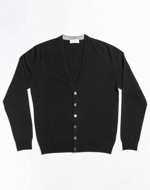 Men's Cashmere Plus Size - Cardigan