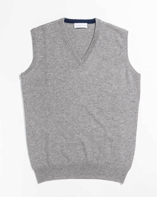 Men's Cashmere Plus Size - Vest