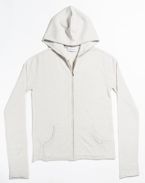 Große Größen Damen - Hoodie aus 100% Cashmere
