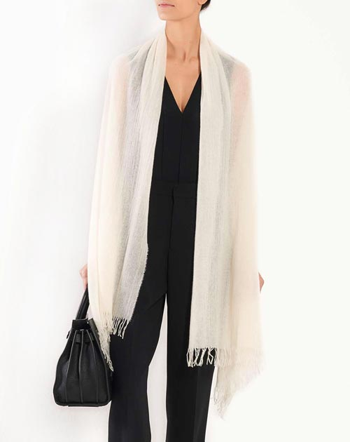 Light Pure Cashmere Stole