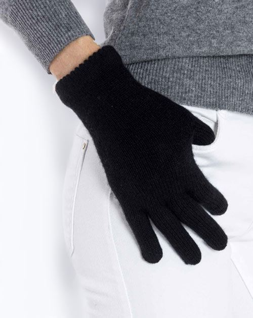 Women's Pure Cashmere Knit Gloves