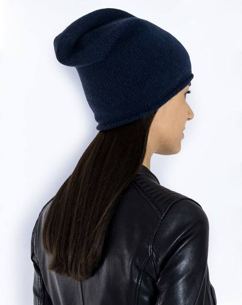 Women's Pure Cashmere Slouch Beanie