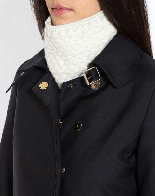 Ladies' Cashmere Basket Weave Neck Scarf