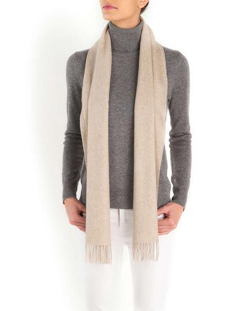 Women's Woven Cashmere Scarf