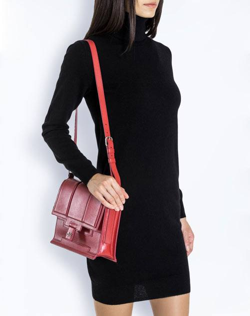Ladies' Pure Cashmere Polo Neck Dress