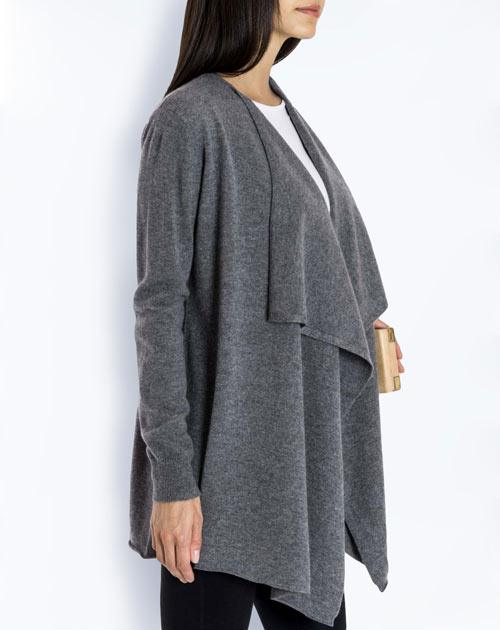 Women's Pure Cashmere Waterfall Cardigan